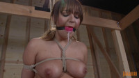 All Natural Busty Slut With Bondage Sybian - Charlotte Cross - Full HD 1080p