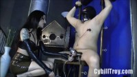 Cybill Troy - Electrocuted In Chastity
