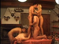 The orgy took place in front of my husband