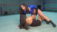 X Club Wrestling Blue Power Guardian vs. The Lotus Princess (2012)
