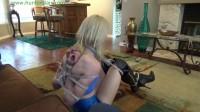 HunterSlair - Janira Wolfe - Bitchy blond torqued up in a brutal reverse prayer