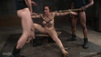 SexuallyBroken - Mar 21, 2016 - Busty Bella Rossi BaRS show with epic BBC deepthroat