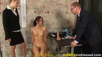 Test Secretary (Dara) Totally Undressed