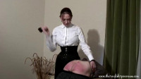 The English Governess - A caning from the governes