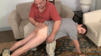 Straight Twink Spanked