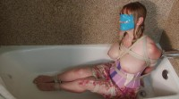 Hotel Hostage Drenched in the Shower sexy slave Lorelei