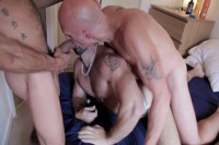 Man-Cunt In Group Sex