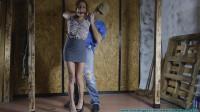 Ashley Graham Hogtied in Jute - Part 1