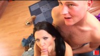 Rebeca Linares, John Wright & Frank Towers (three, girl, spa)