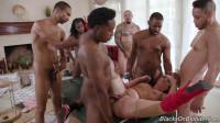 Interracial Orgy For Carmen Valentina