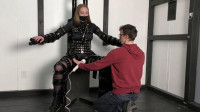 Bondage, domination and toture for horny girl in latex Full HD 1080p