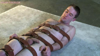 Shamus — Naked and bound on the floor