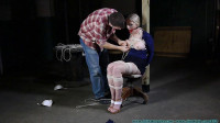 Her nipples are terrorized with nipple clamps, her ass is flogged.