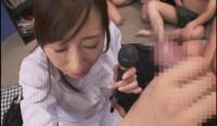 Kaori Nishio - Semen Bukkake Announcer Woman