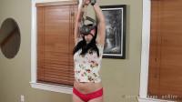Self-Bondage Challenge — Lucy's Workout — HD 720p