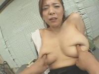 Big Tits female teacher as a slave pet