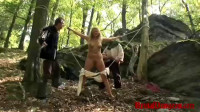 Witch Magda Endures Outdoor Hard Flogging