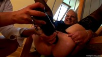 Ass Fisted With a BIg Smile On Her Face