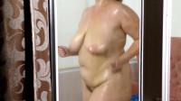 huge ass mature katrin in shower
