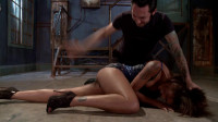 Vulgar Display Of Power On Ebony Slut (11 Jul 2014) Fucked And Bound