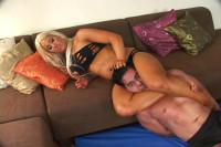 Megan Avalon — AKA Muscle Barbie — Naughty Megan — Scissorhold Compilation