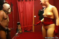 PainVixens Ebony slave bondage