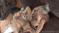 Richard, Dito and Nando Chaves - Bareback Home Office