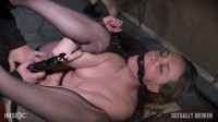 Sierra Cirque in her fancy stockings and sexy heels is bound and brutally fucked.