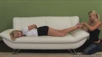 Foot Worship And Tickling Women Porn Videos Part 1 ( 10 scenes) MiniPack - vid, video, bound, gag, foot fetish
