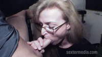 Shaved Amateur Milf fucked in suspenders full hd
