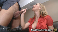 Co-worker Tanya Tate fucking in the office