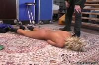 Painvixens – 09 Mar 2009 – Collared Blonde Bondage
