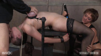 Iona Grace's Big Natural Breasts Bound As She Is Throatboarded and Made to Cum! Part 1