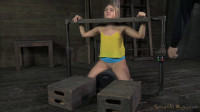 SexuallyBroken - Beautiful blonde AJ Applegate stuck in stocks...