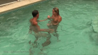 Ginary Tickle Adventures — Pool Tickle Fight With Nikki Brooks & Sean Long