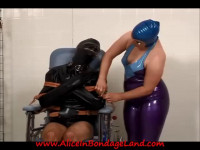Rubber Bondage Reprogramming Tease – Twisted Clinic