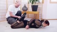 Mina Leather Cuff Hogtie (2018)