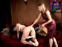 For naughty, thoughtless young, i.e., a sound, bare bottom spanking
