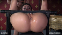 SexuallyBroken – Jun 08, 2016 – Mandy Muse Bound To a Table and Mercilessly Fucked From Both Sides!