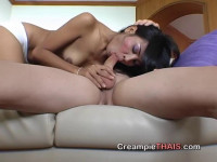 Nasty crazy whore gets cum after nice drilling