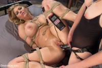 watch orgasms english - (Carissa Montgomery Shocked, Topped and Electrofucked by Mona Wales)