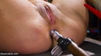 Hot Latex Lesbian Electro Sex: Cherry Torn vs. Cherie Deville
