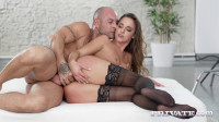 Photoshoot and Anal for Gorgeous Brunette Model