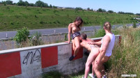 Outdoor Bisexual Threeway (vid, stud, download).