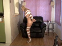 This clip starts when I begin to hog tape her and runs through the end