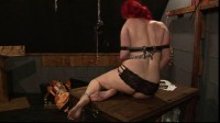 24 hour session for Lola part 5 scene 2 - media video, watch, humilation, red head, new