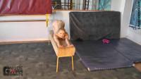Tatjana - Bending in the gym
