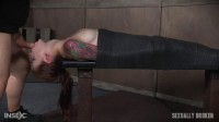 Part 2 Anna De Ville Mummified With Vibrator and Throat