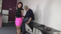 Ludella Hahn : Pink Hottskirted, Strapped and Led - hot, video, tight.