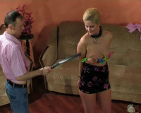 Slave (tits, blond, extreme, vid)